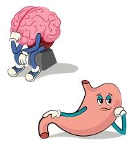 illustrated character set of human internal organs 2