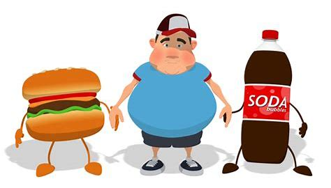 soda meat obesity